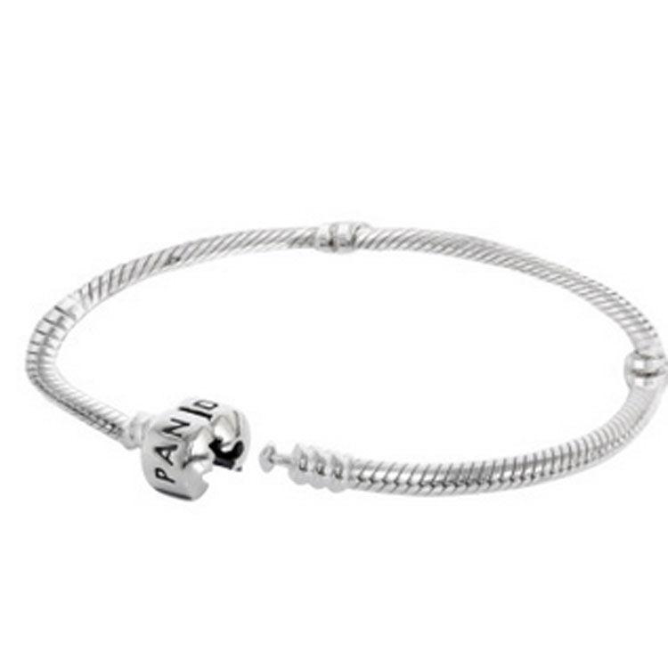 潘多拉 silver 蛇链基础手链